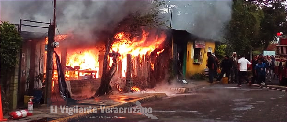 incendio en vulcanizadora