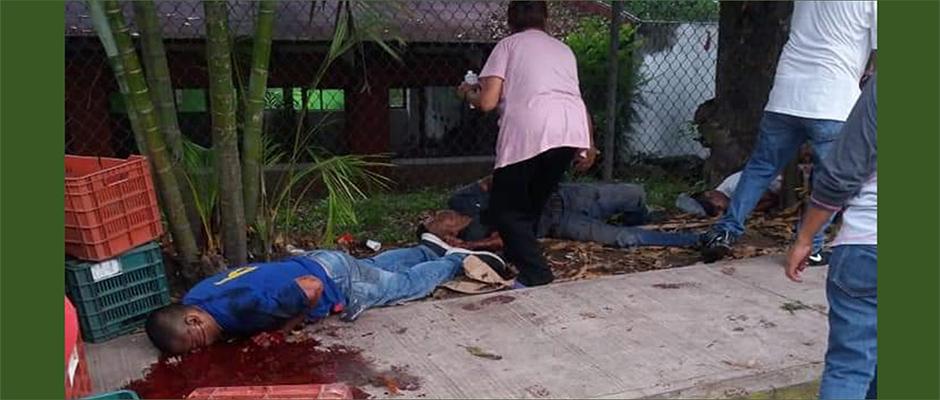 ataque armado a productores de limón en tuzamapan, coatepec
