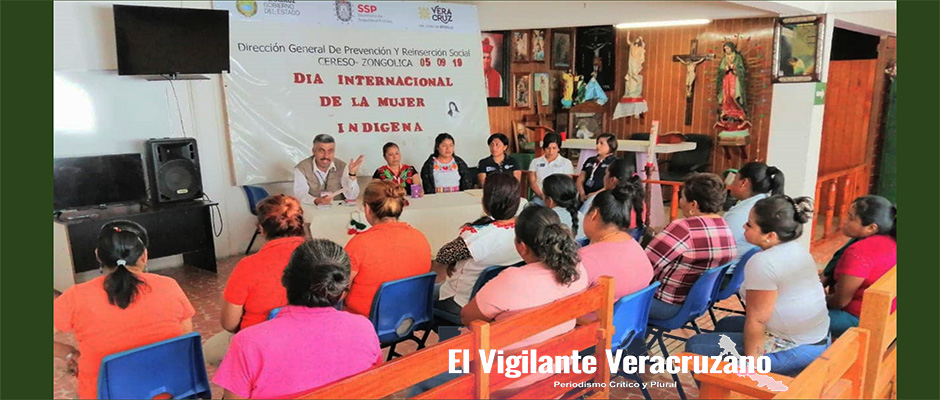 dia internacional de la mujer indígena en cereso de zongolica
