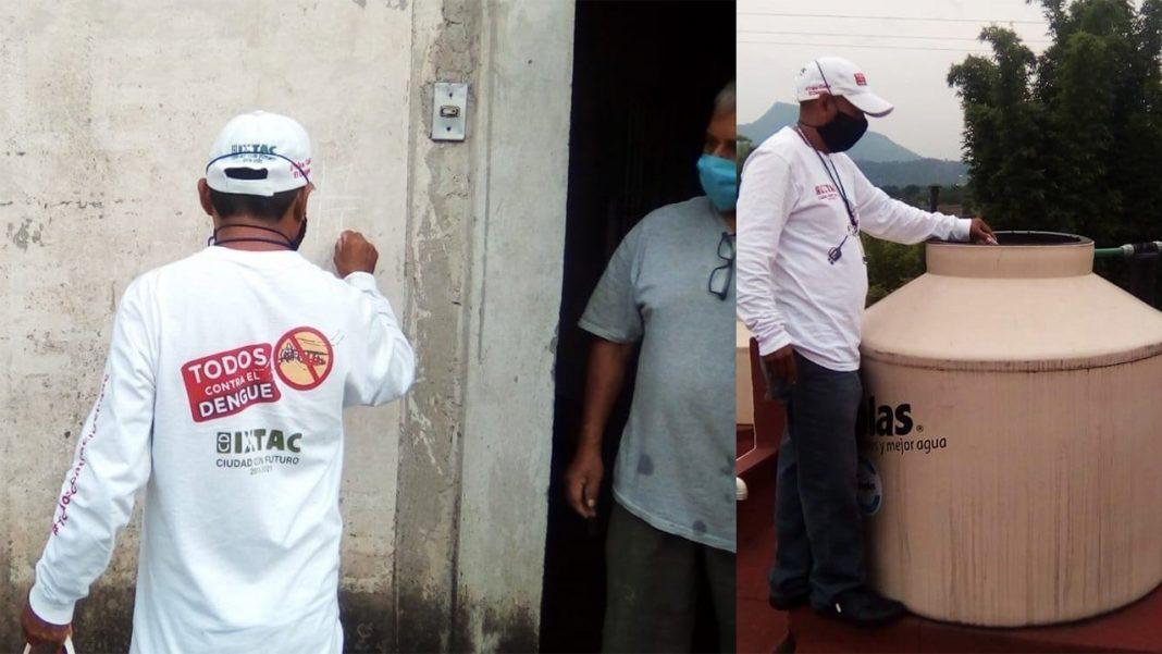 acciones contra el dengue y zica en ixtaczoquitlán