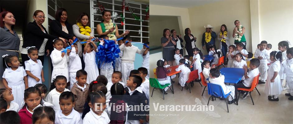 inauguracion de comedor escolar en jardin de niños francisco gabilondo soler de barrio san miguel la perla
