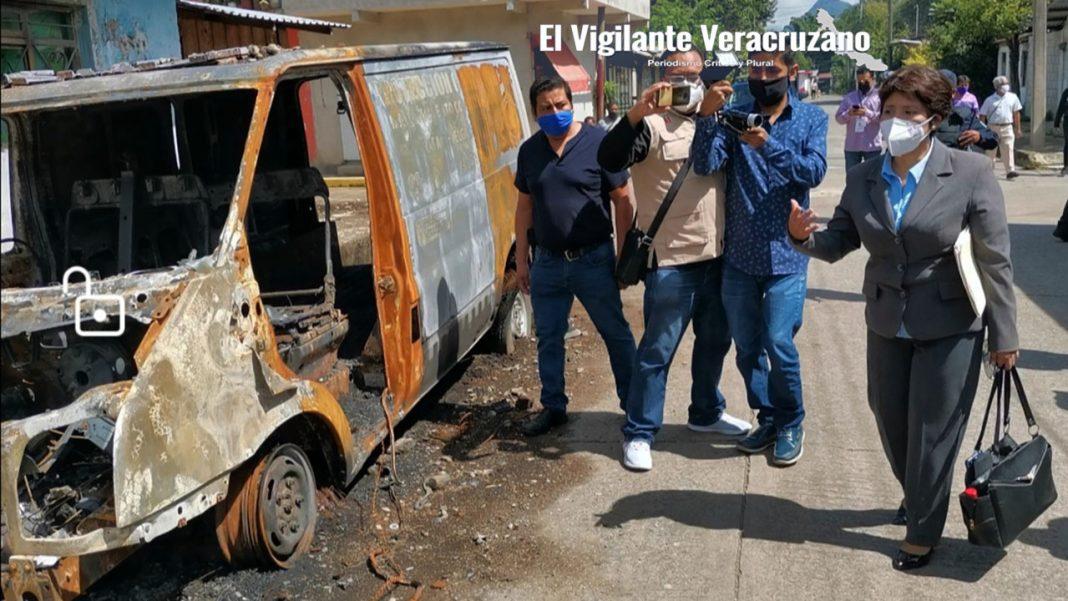 evalúan daños al palacio municipal de rafael delgado