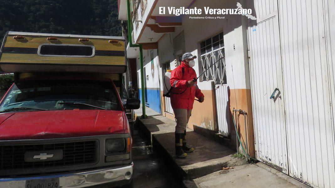 segunda jornada de sanitización en zongolica
