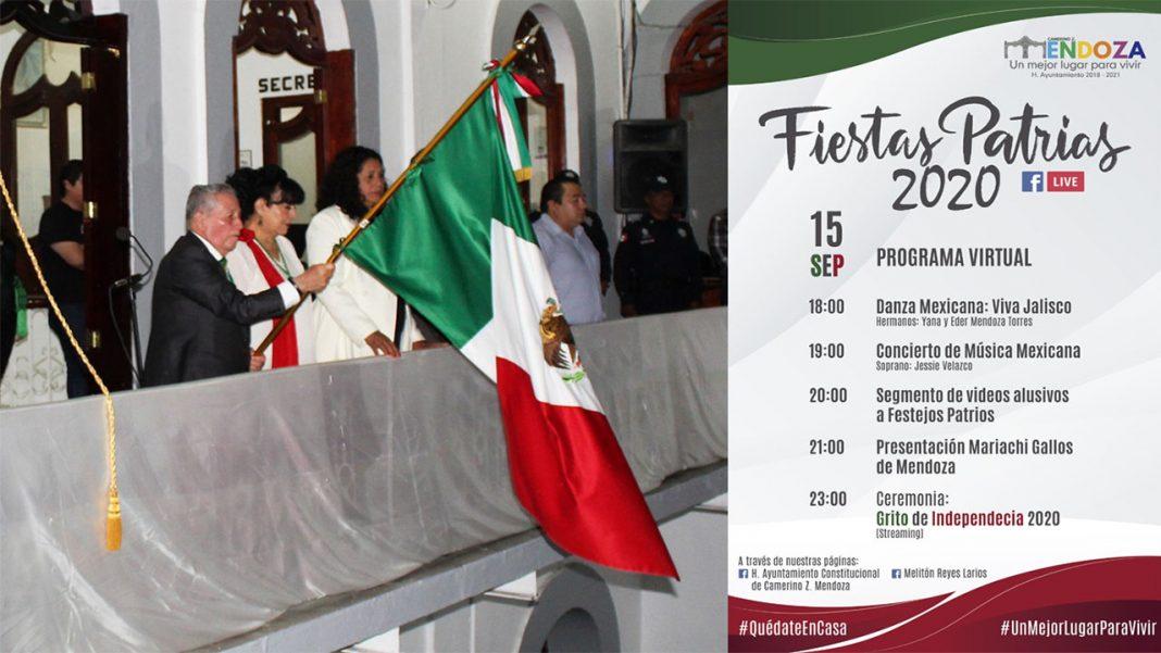 Grito de Independencia en Ciudad Mendoza