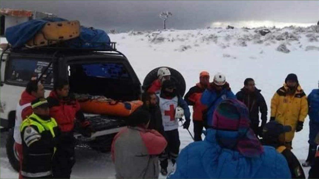 Muere alpinista de León Guanajuato en el volcán Pico de Orizaba
