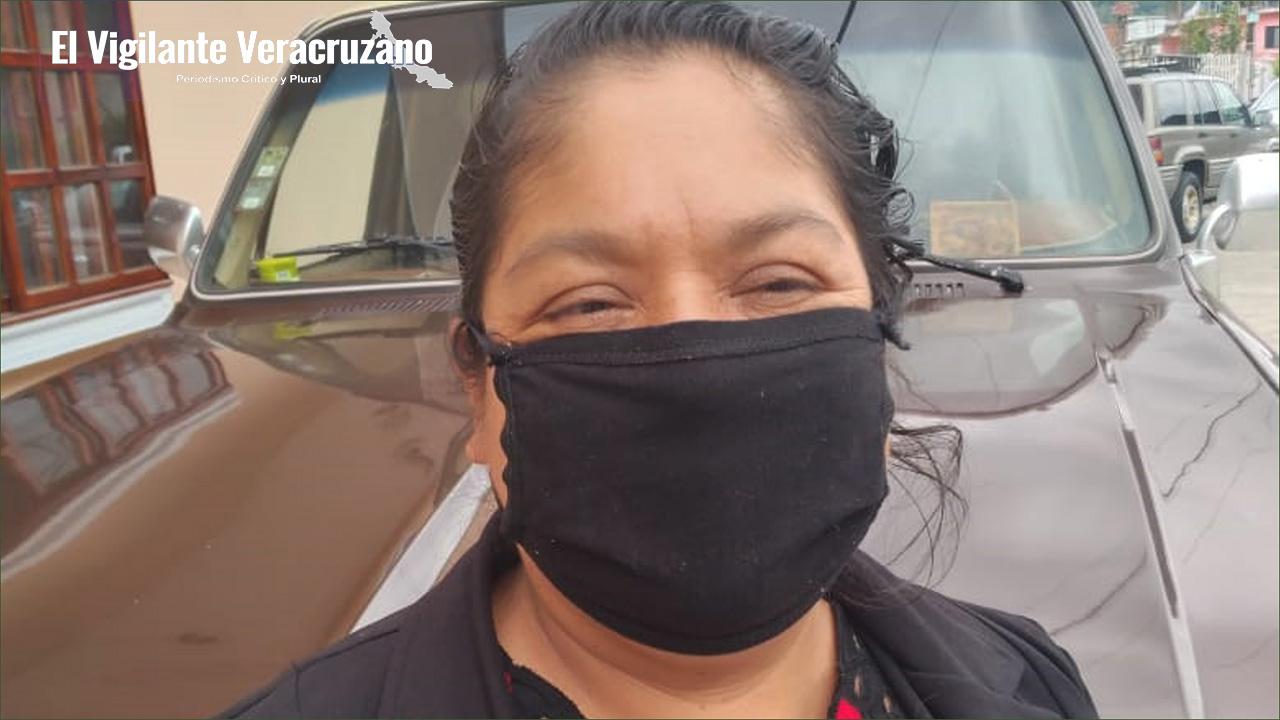 Fortunata Zepahua Tequihuatle, alcaldesa de Magdalena