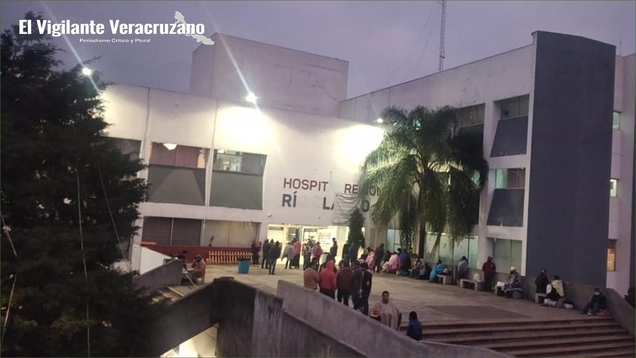 Arriban vacunas contra covid al Hospital Regional de Río Blanco