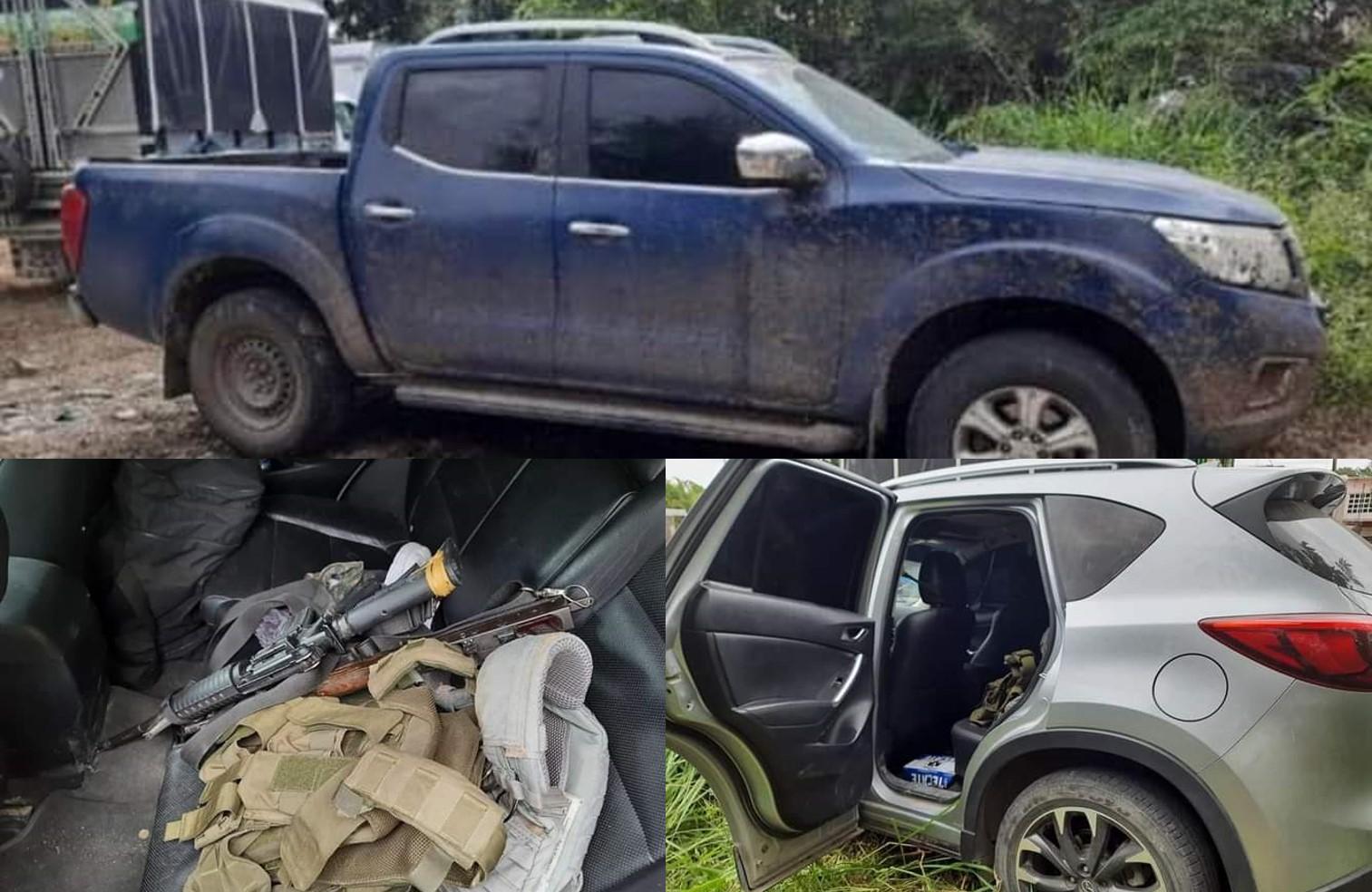 Asegura SSP automóvil relacionado con el secuestro de la activista Elvira Gómez