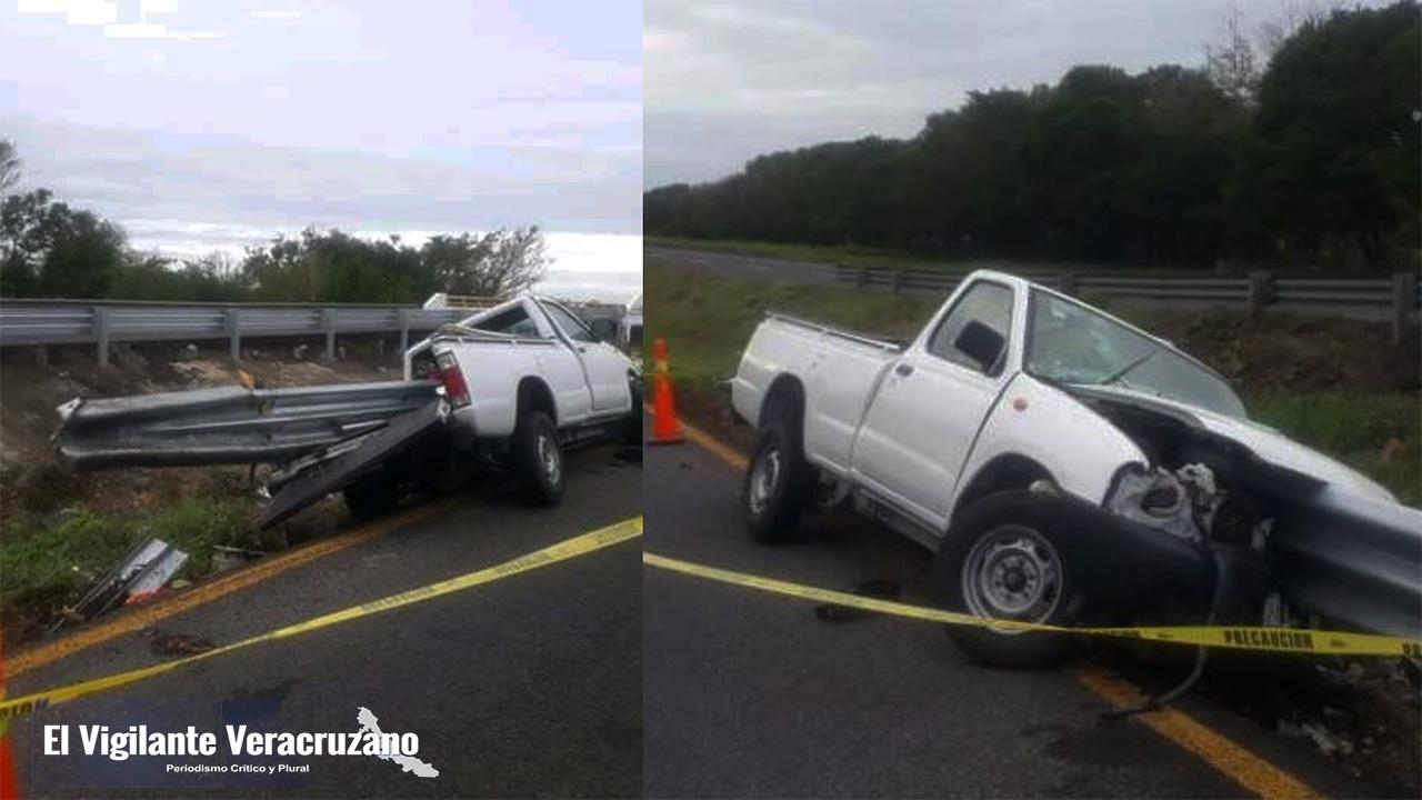 Muere tras choque en la autopista en La Tinaja