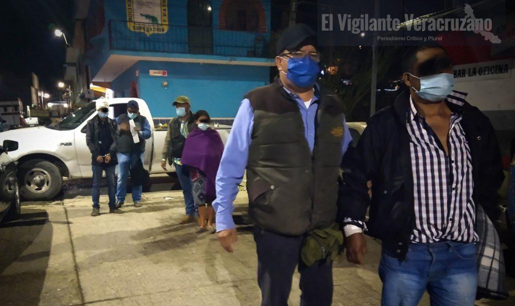 Asesinos de campirano de Xoxocotla quedan recluidos en el cereso de Zongolica