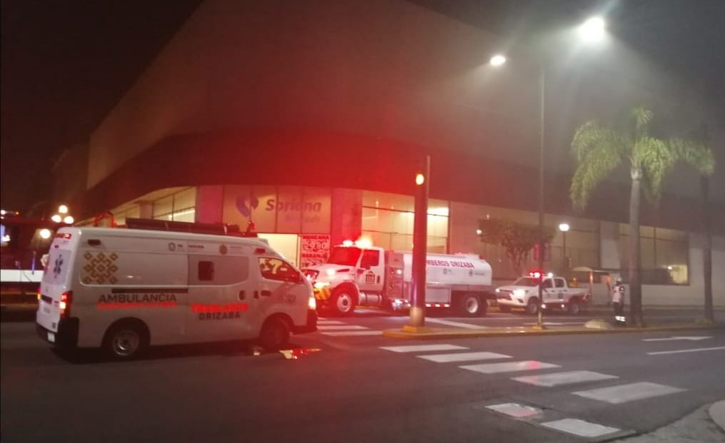 Se incendia Soriana Centro en Orizaba