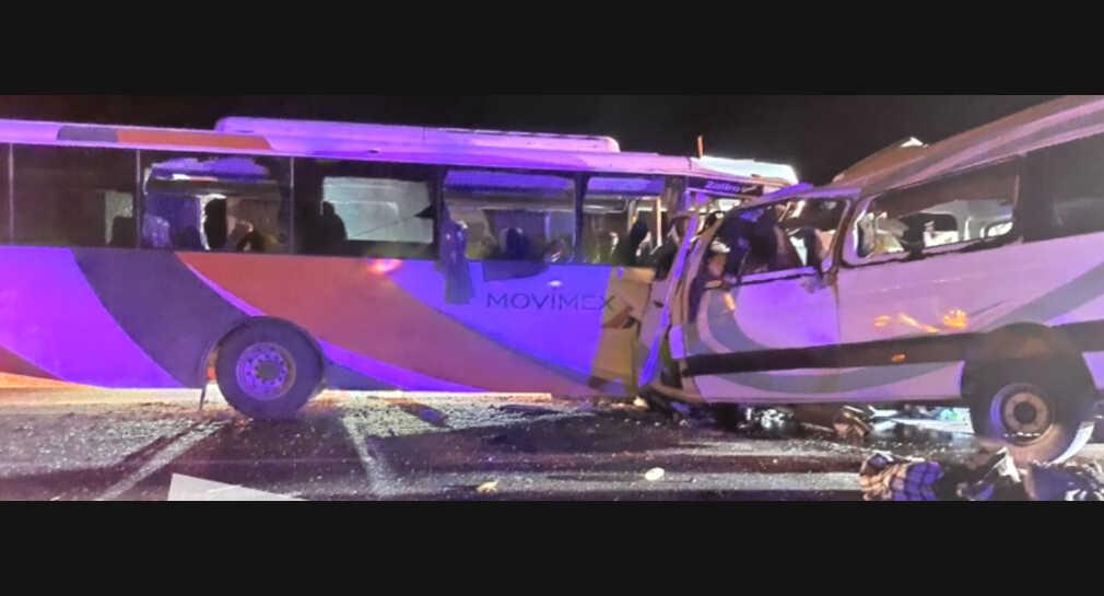 Se accidenta gente de Zongolica en Caborca, Sonora