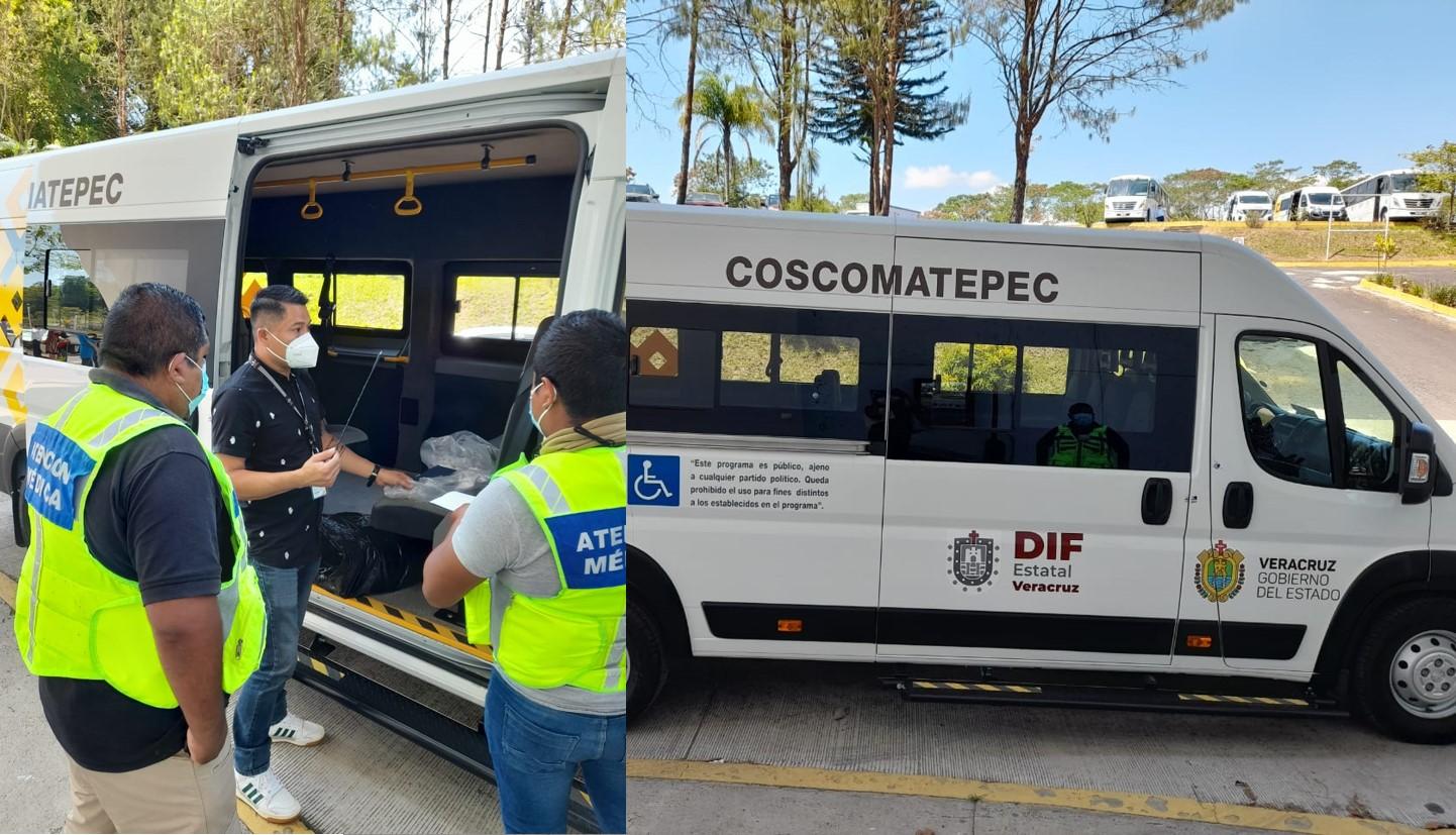 Unidad adaptada para personas discapacitadas para Coscomatepec