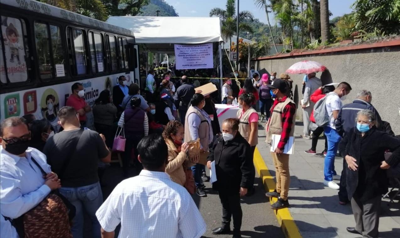 Un éxito la aplicación de la vacuna anti-covid en Ixtaczoquitlán