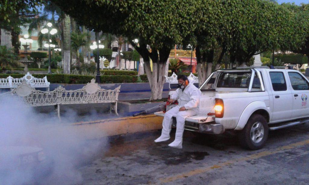 Intensifican Jornada de Fumigación en Ciudad Mendoza.